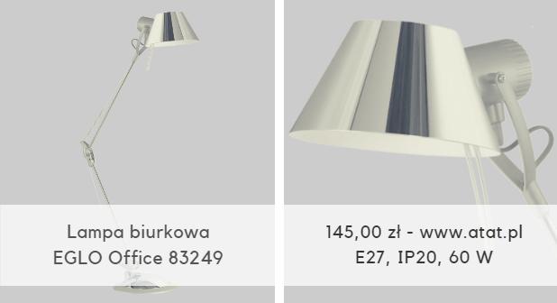 Lampa biurkowa EGLO Office 83249