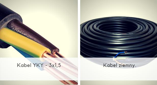 Kabel ziemny YKY 3x1,5