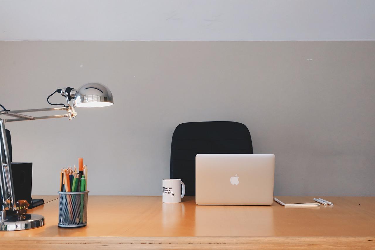biuro lampa biurkowa