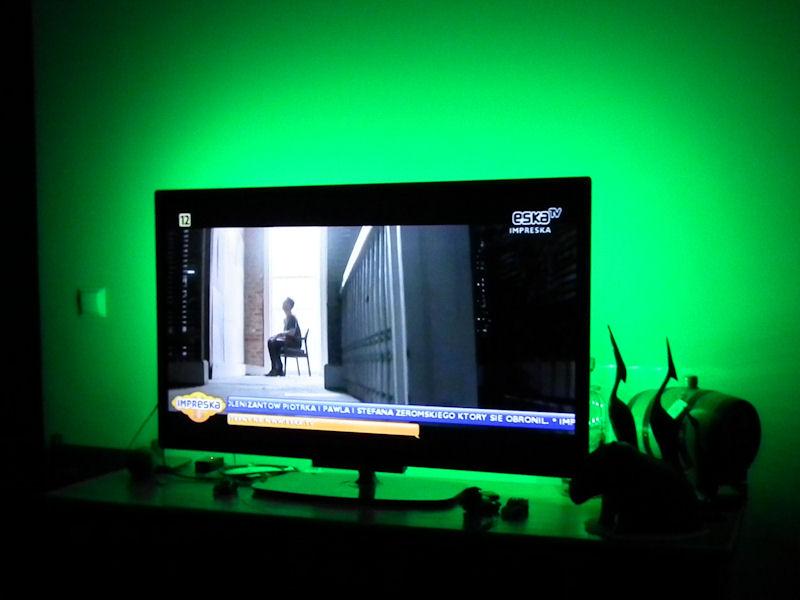 podświetlenie LED telewizora